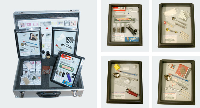Drugs-Identification-Training-Kit